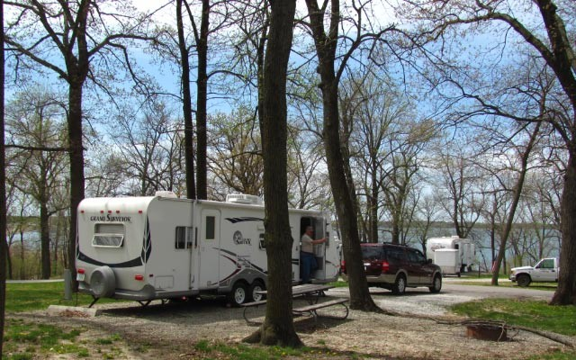 North Overlook Recreation Area Campground