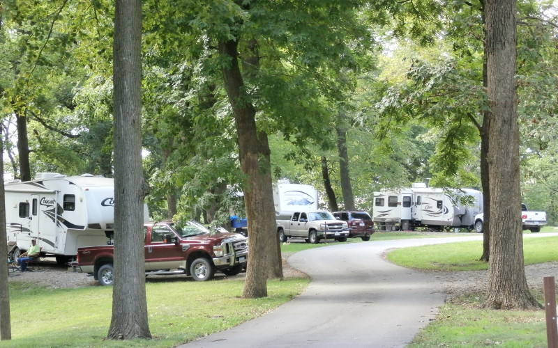 Wallashuck Recreation Area Campground
