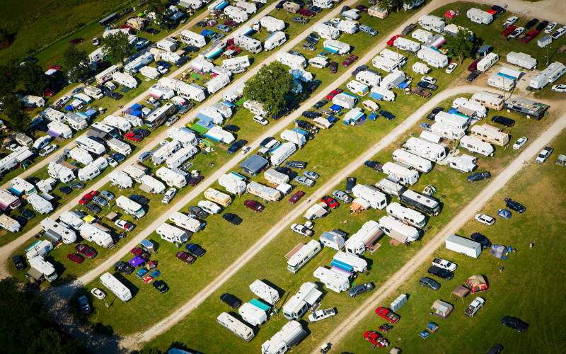 Knoxville Raceway Campgrounds